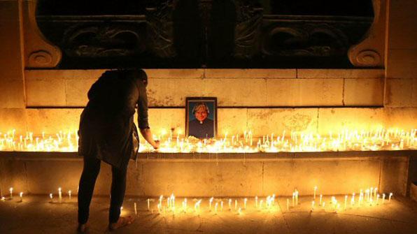 인도 前 대통령 압둘 칼람 사망