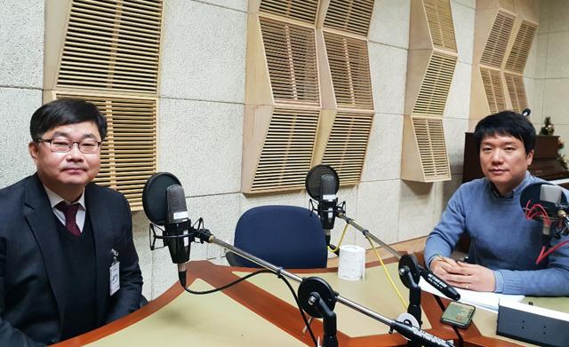 박상재 국립암센터 간담췌외과 박사 (왼쪽)