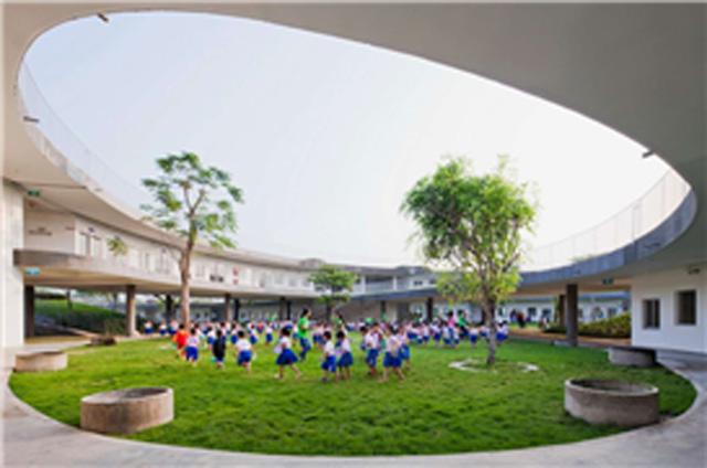 그린 스마트 미래학교 해외 사례 이미지