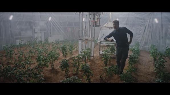 영화 '마션'의 한 장면