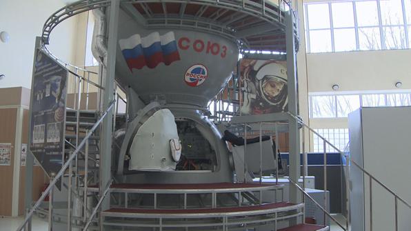 소유즈 우주선 모형