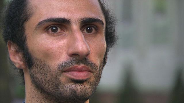 단식을 선언한 이집트 출신 난민신청자 자이드 압델라흐만