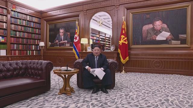 김정은 위원장 신년사