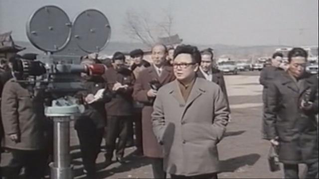 영화제작소 현지지도 김정일 위원장