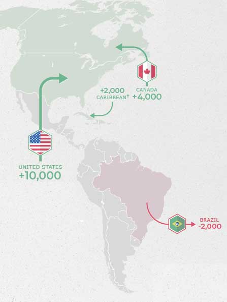 출처 : AfrAsia Global Wealth Migration Review & www.visualcapitalist.com