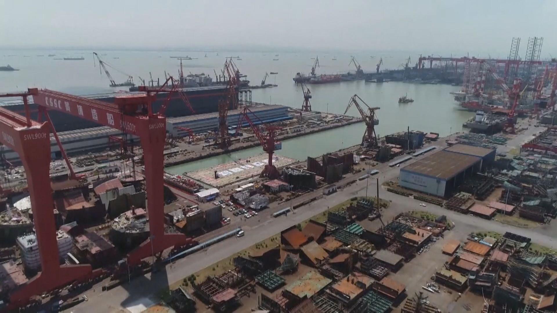 중국은 대형 수리조선소를 보유하고 있어 한국 대형 선박 98%가 중국조선소에서 수리하고 있다.
