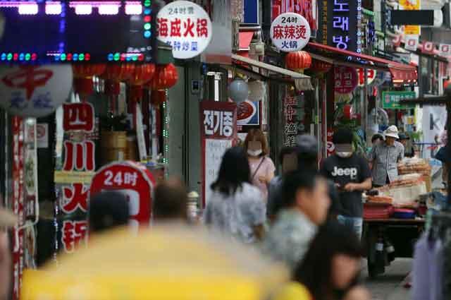 서울 영등포구 대림동 외국인밀집지역