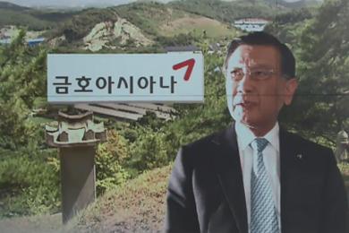 [단독] 금호그룹 계열사, 17억 들여 회장 선산 명당 조성?