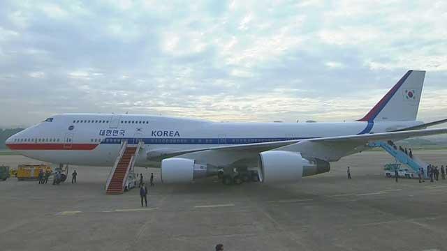 [속보] 文 대통령 관저에서 출발…헬기로 서울공항으로 이동