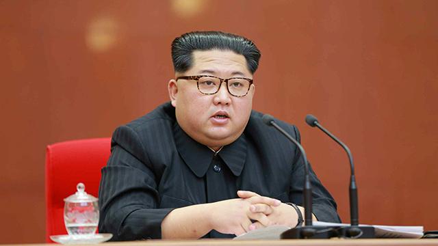"""北 매체 """"김정은, 한반도 비핵화 의지 거듭 확약"""""""