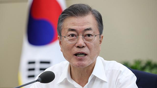 """문대통령 """"얻고자 하는 건 항구평화 …비핵화 허심탄회 대화할 것"""""""