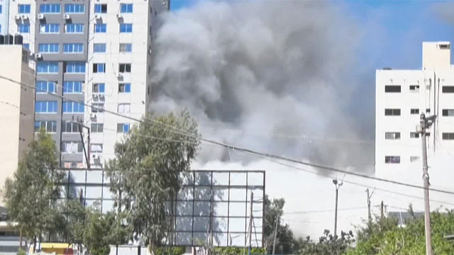 이스라엘, AP등 입주한 외신 건물도 폭격