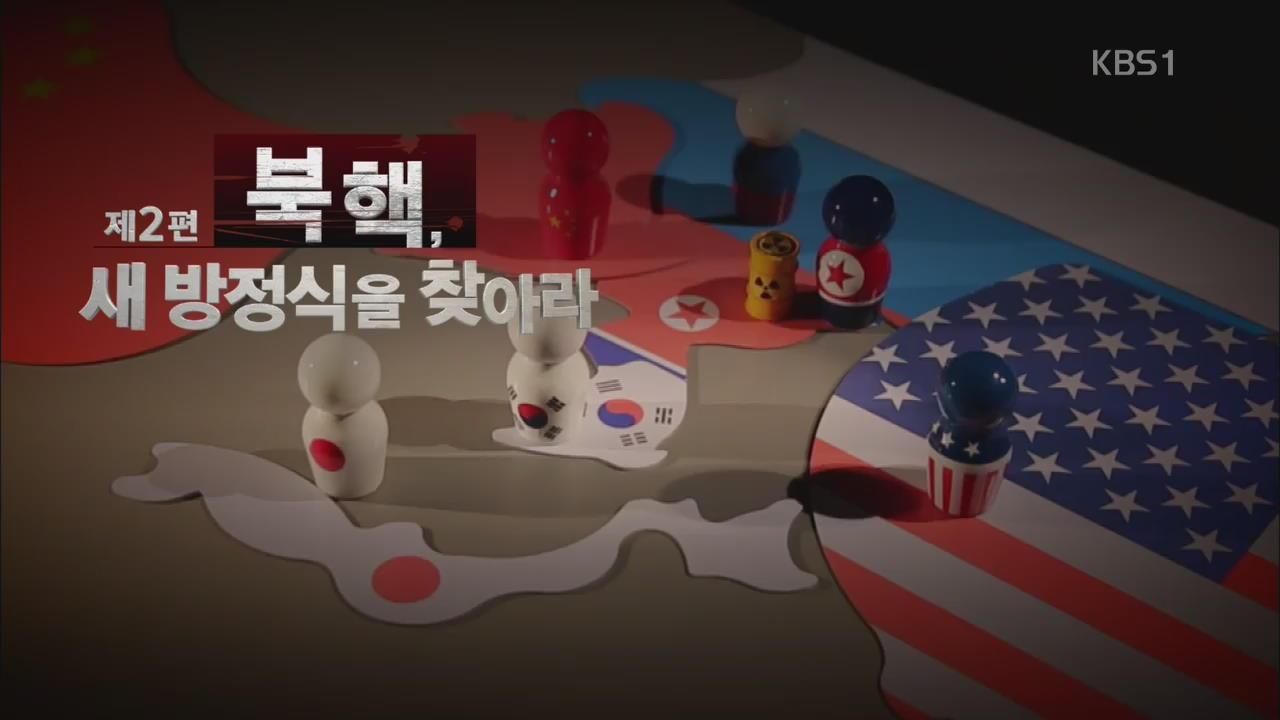 8.15 특별기획-핵과 한반도 〈제2편〉 북핵, 새 방정식을 찾아라