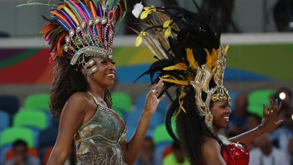 미리 보는 리우 올림픽 폐막식…'카니발의 향연'