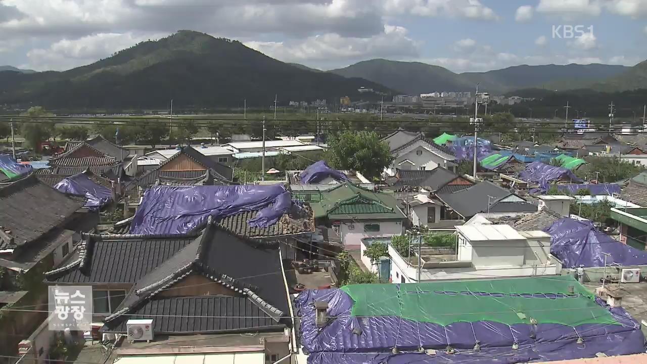 지진 첫 '특별재난지역' 선포…피해 복구 속도