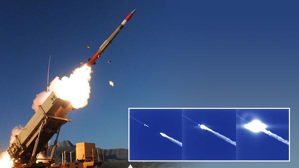 미 패트리엇 미사일, 탄도미사일 요격시험 성공