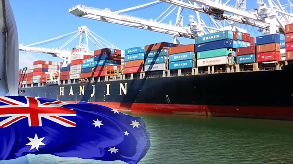 한진해운 선박 압류금지명령 독일·호주서도 발효