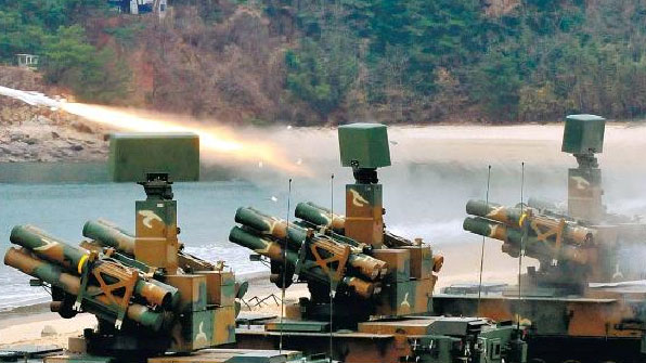 대공무기 '천마' 3년째 실사격 훈련 못해