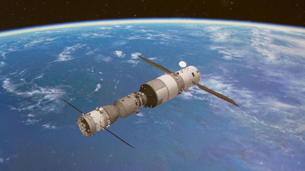 中 선저우 11호, 우주정거장과 도킹 성공…세계 3번째