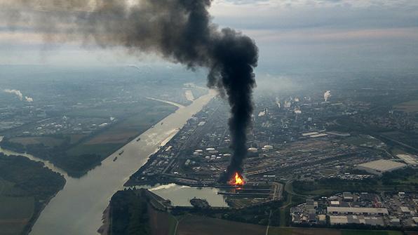 바스프 공장서 폭발사고…국내 에틸렌 업체에 호재될듯