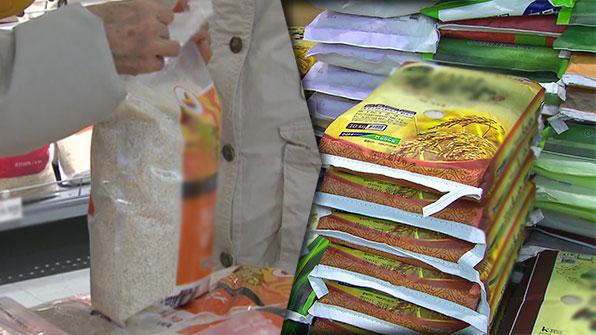 무거울수록 안 팔리는 쌀…소포장·즉석밥 매출은 늘어