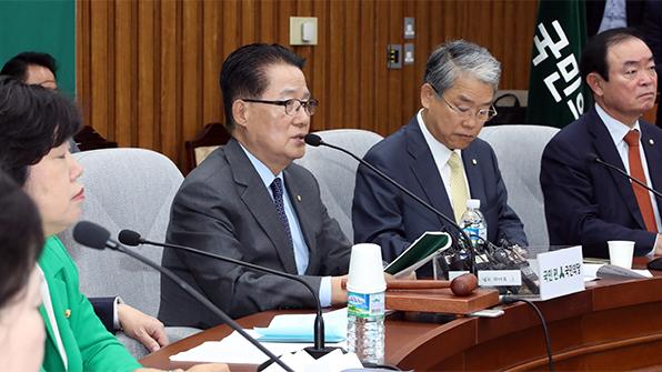 """박지원 """"文, 대선후보로서 위기관리능력·리더십에 의구심"""""""