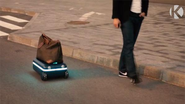 [고봉순] '나만 따라와' 주인 쫓아다니는 AI 여행가방