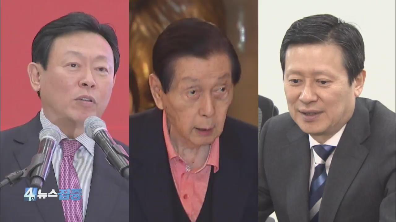 검찰, 롯데그룹 수사 종결…'3부자' 동시 기소