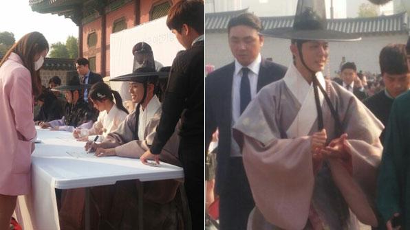 """[K스타] """"와~ 박보검이다"""" '구르미' 팬 사인회"""