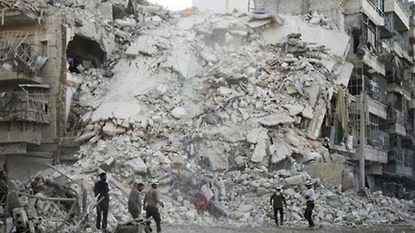 """러 """"서방 연합군이 시리아 알레포 민가 폭격…6명 사망"""""""