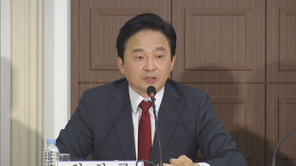 """[영상] 원희룡 """"반기문·문재인과도 협력 가능"""""""