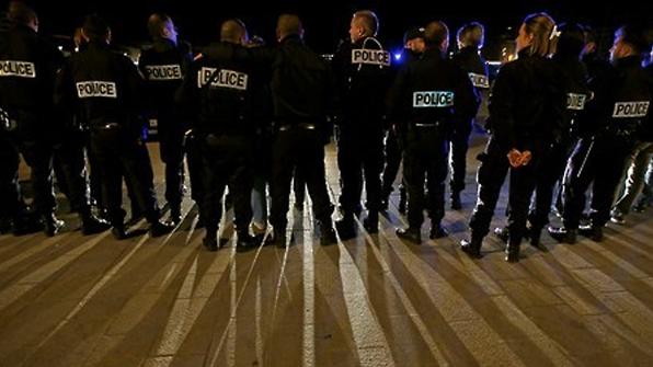 """""""경찰관 폭력 그만"""" 프랑스 경찰관 차량 시위"""