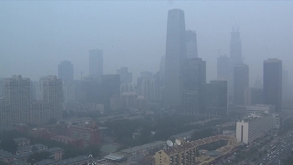 中 베이징 이어 동북지방도 스모그 습격