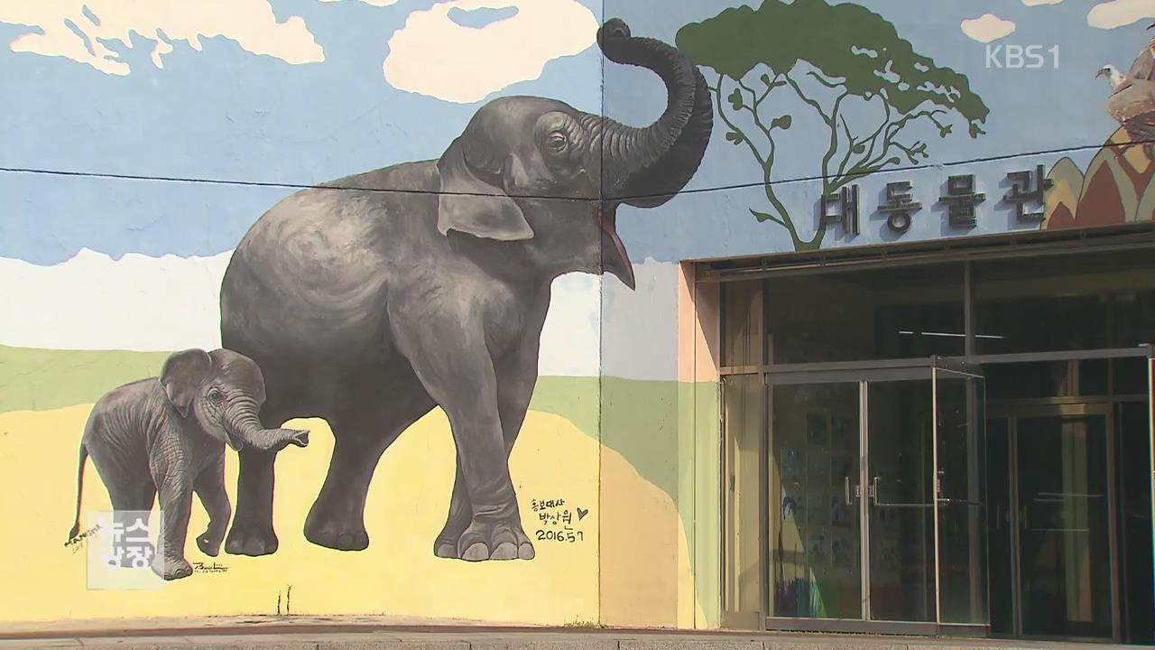 7백 명이 그린 벽화, 동물원을 수놓다!