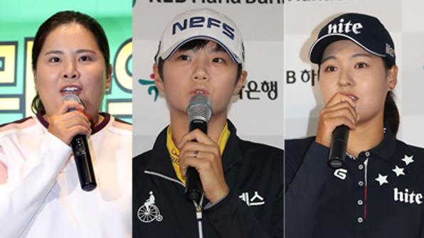 女골프  '큰 장' 선다…박인비·전인지 등 계약 만료