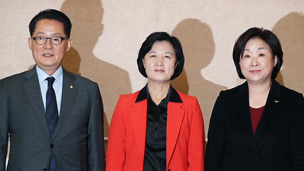 야 3당 대표, 오후 긴급회동…탄핵안 '이견' 조율 시도