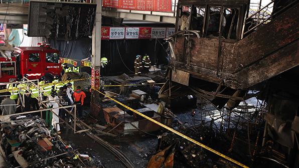 서문시장, 8월 안전처 점검 때 소방·전기 11건 지적