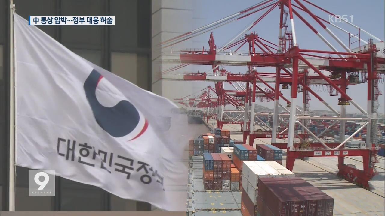 中 무차별 통상 압박…업체만 '발 동동'