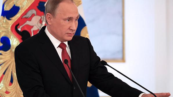"""푸틴 """"美 트럼프 행정부와 대등한 입장에서 협력할 것"""""""