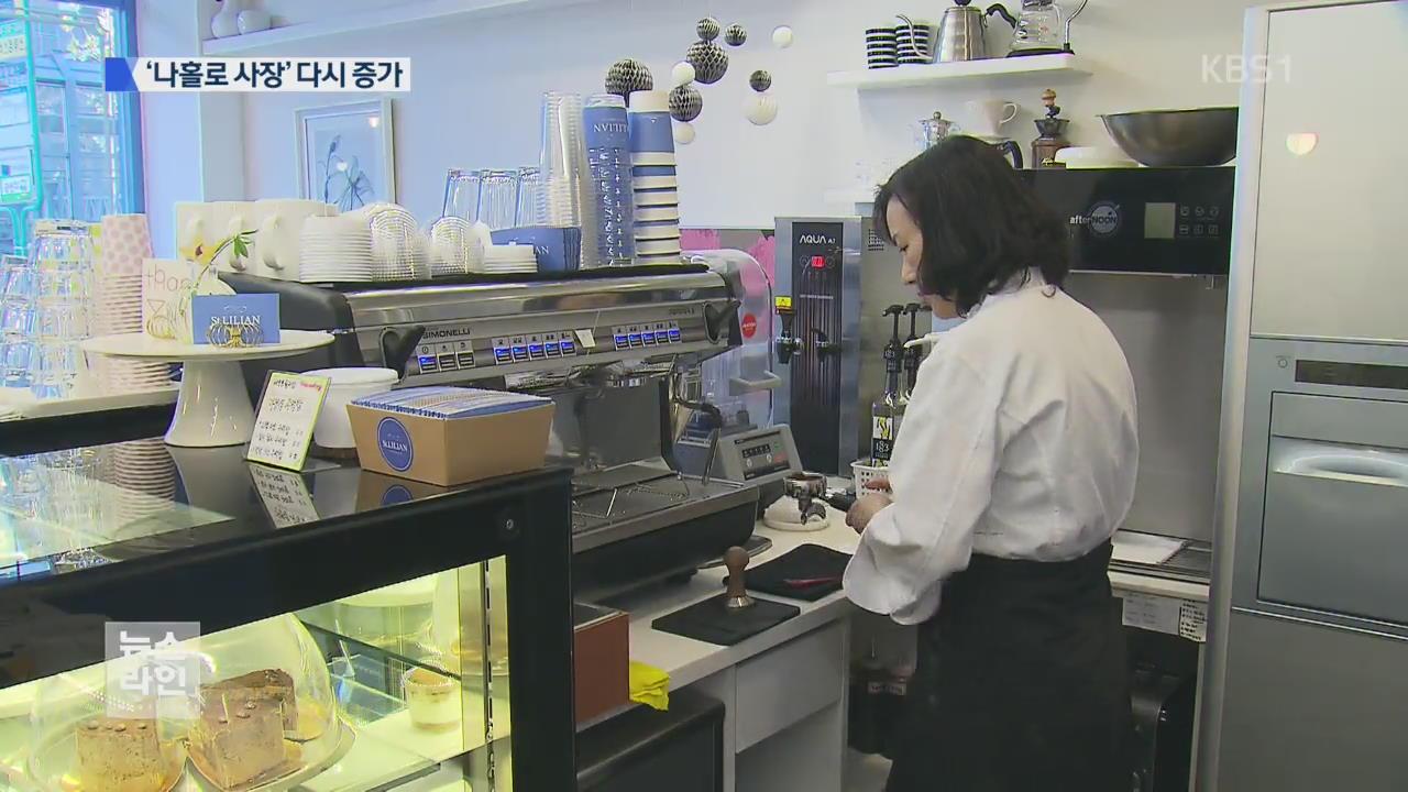 커피숍 창업 20% 급증…'나홀로 사장' 증가