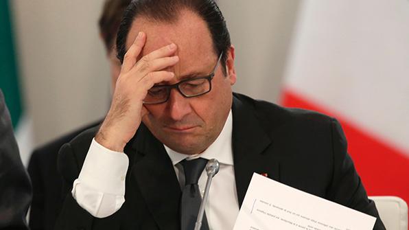 '4% 지지율' 올랑드 프랑스 대통령 내년 대선 불출마 선언
