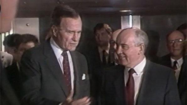 [그때 그 뉴스] 동서 냉전 종식의 시작…몰타회담