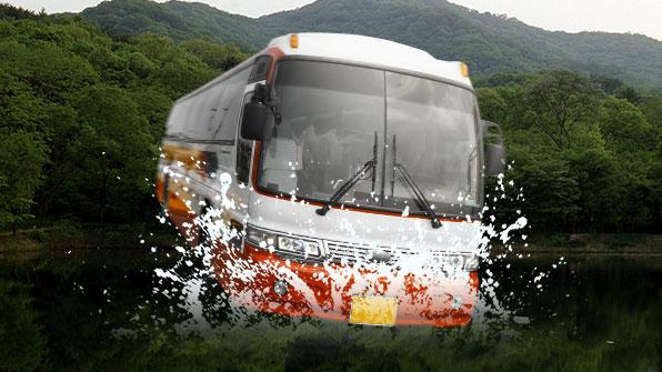 中 후베이서 버스가 호수로 추락…18명 숨져
