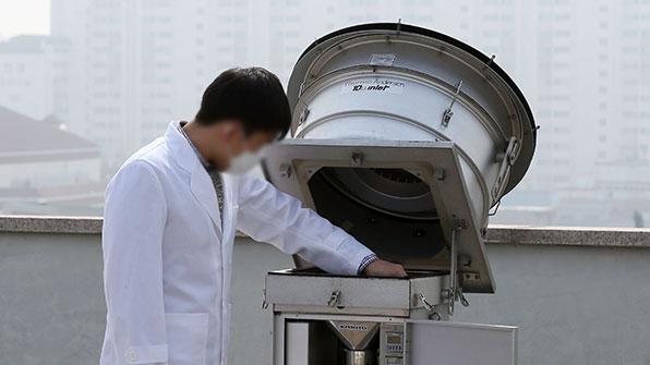 인천시 낡은 대기오염측정망 대폭 교체