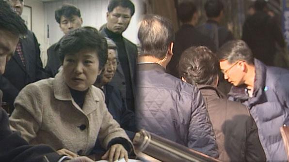 [영상] 서문시장의 반응 '극과 극'…11년 전과 오늘