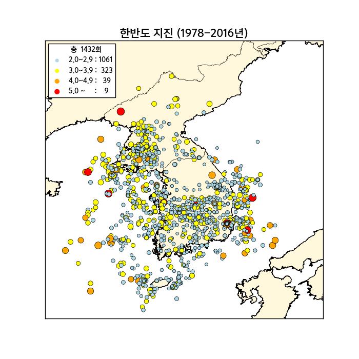 11월 최다 지진…한반도 지진 패턴 바뀌다