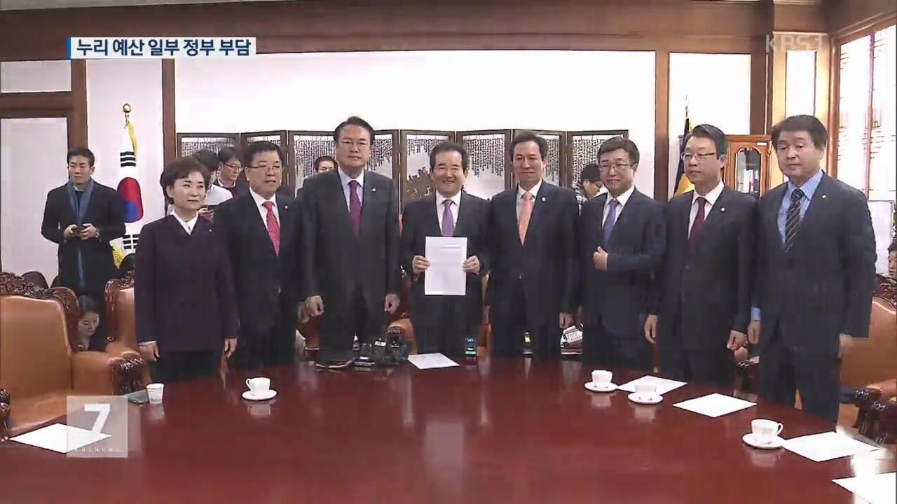 오늘 밤 예산안 처리…누리과정 일부 정부 부담