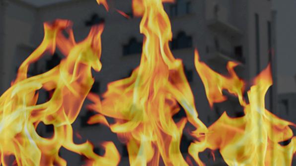 모텔서 불…투숙객 등 7명 대피