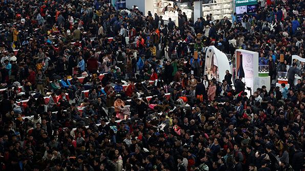 중국 최대 명절 '춘제' 이동 시작
