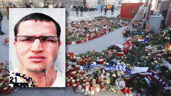 伊, 베를린 테러범과 연계된 튀니지인 추방